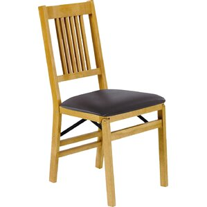 Upholstered Wooden Folding Chairs folding chairs you'll love | wayfair