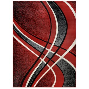 Geometric Red Area Rugs You Ll Love In 2021 Wayfair
