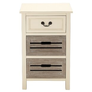 Urban Designs 3 Drawer Nightstand by EC World Imports Find