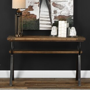 Gracie Oaks Renee Industrial Console Table