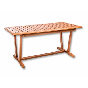 Wentzville Wooden Table By Brambly Cottage