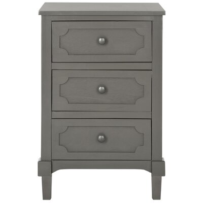 Fredericktown 3 Drawer Accent Chest Color: Gray by Alcott Hill