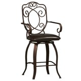 Sears Metal 30 Swivel Bar Stool by Fleur De Lis Living