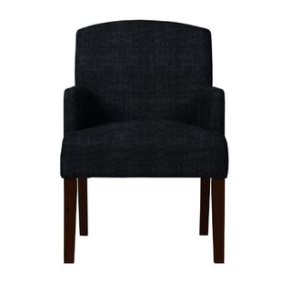 Arturo Solid Back Arm Chair by Langley St..