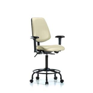 Symple Stuff Natasha Round Tube Base Ergonomic Office Chair