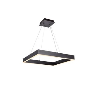 Graceville 1-Light LED Rectangle Pendant by Orren Ellis