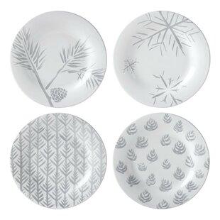 Alpine Assorted 4 Piece Dessert Plate Set by Lenox Best #1