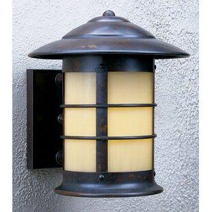 Newport 1-Light Outdoor Wall Lantern by Arroyo Craftsman