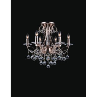 Astoria Grand Barr 6-Light Semi Flush Mount