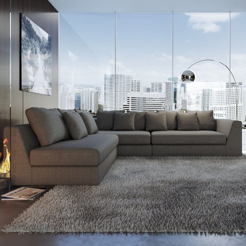 Sather Living Reversible Sectional
