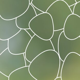 Pebbles Privacy Window Film by Stick Pretty