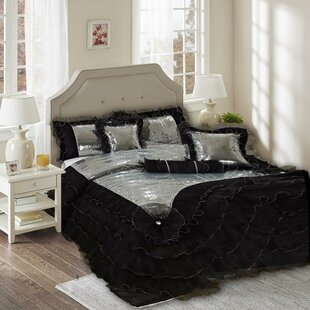 Tache Home Fashion Luxurious 6 Piece Comforter Set