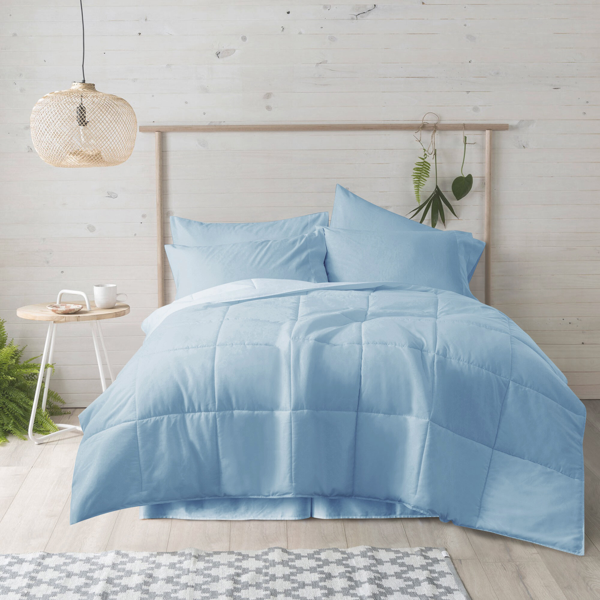 Blue Down Comforters Duvet Inserts You Ll Love In 2021 Wayfair
