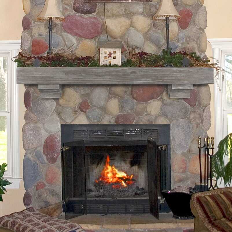 mantel weathered room living fireplace wall stone electric wood fireplaces with for tv shelf brick corner mantels stand