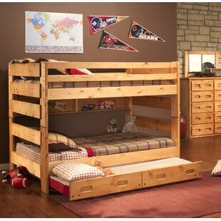 Find Timeless Full Over Full Bunk Bed with Trundle by Harriet Bee Reviews (2019) & Buyer's Guide