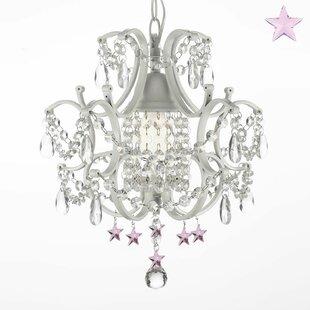 6-Light Crystal Pendant by Harrison Lane