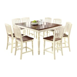 Laureaus 9 Piece Extendable Dining Set Hokku Designs