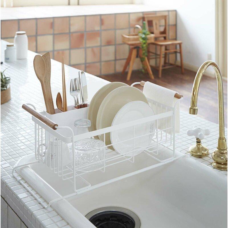 3cc7b36f26c6 Corrigan Studio Jamari Over-the-Sink Dish Drainer Rack & Reviews ...