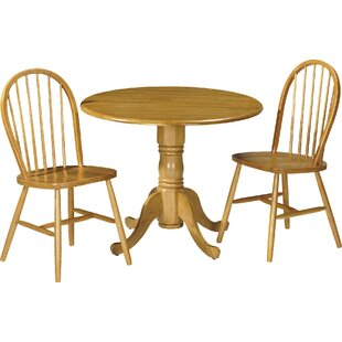 Ted Dining Table And 2 Chairs By Brambly Cottage