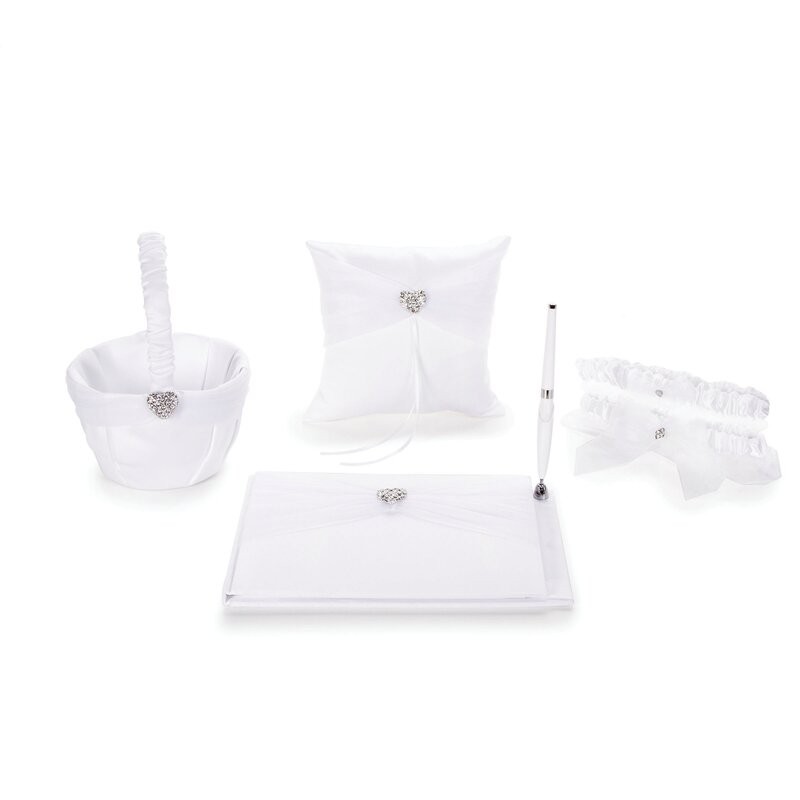 Elizabeth Street 6 Piece Guest Book Set