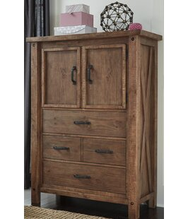 Saranac 3 Drawer Gentleman's Chest by Loon Peak