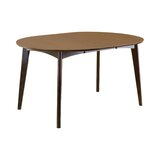 Fisk Solid Wood Dining Table by George Oliver