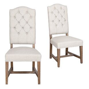 Nymphea Upholstered Dining Chair (Set of 2) Lark Manor
