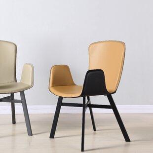Rishva Upholstered Dining Chair by Orren Ellis