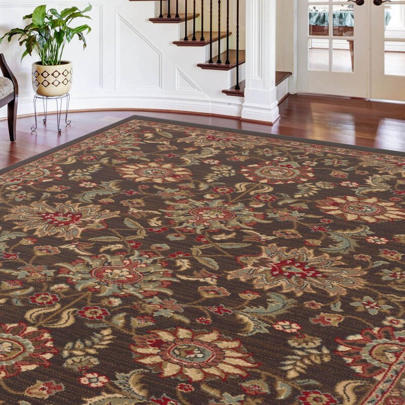 Pippins 3 Piece Charcoal Area Rug Set