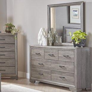 Chicora 7 Drawer Dresser with Mirror