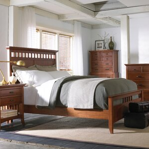 Benita Panel Bed by World Menagerie