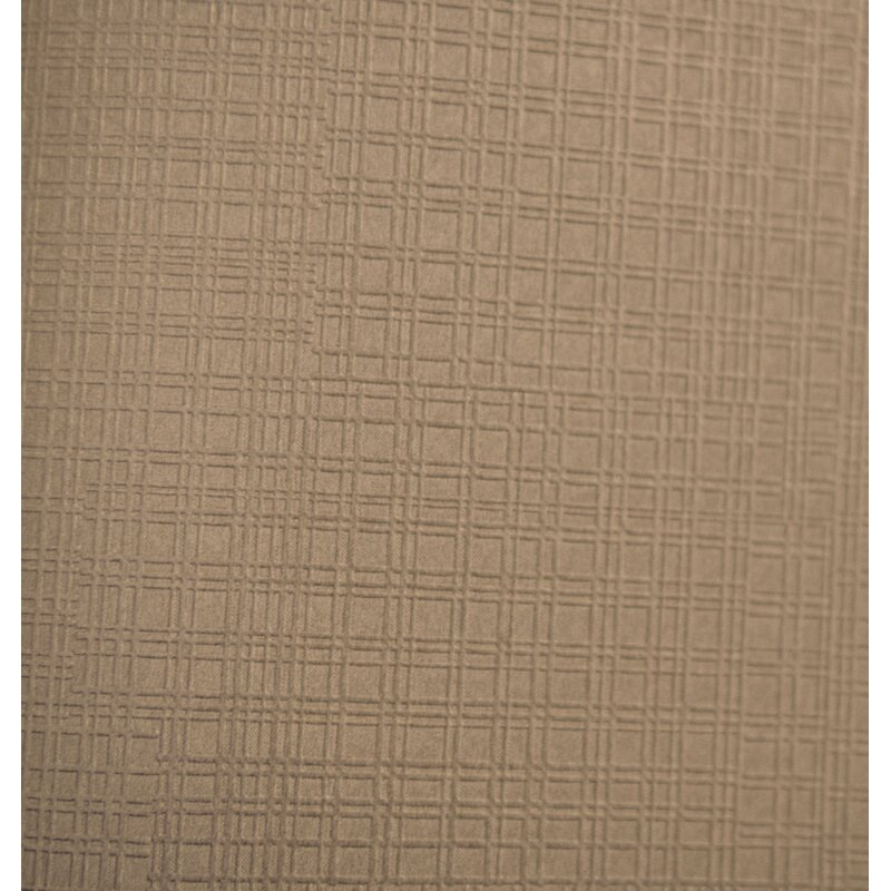 """Charlton Home Mossley Matte Square 33 L x 20.5"""" W Textured Wallpaper Roll  Color: Pewter"""