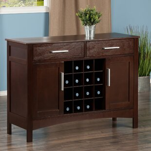 Bondurant Buffet Table by Charlton Home