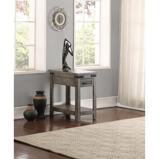 Plains Drawer End Table by Three Posts