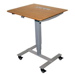 Compare prices Sit Stand Electric Portable Presentation Standing Desk By Fräsch