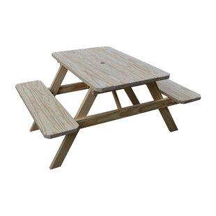 Sinopah Solid Wood Picnic Table