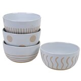 Aerne 4 Piece Dessert Bowl Set