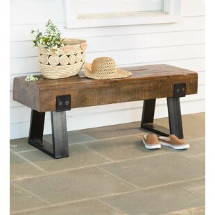 Plow & Hearth Richland Outdoor Wood Bench