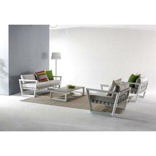 Wade Logan George 9 Piece Sofa Set with Cushions