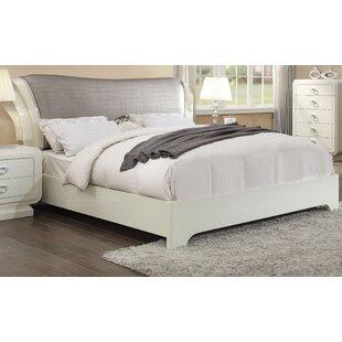 Everly Quinn Gilleland Upholstered Sleigh Bed
