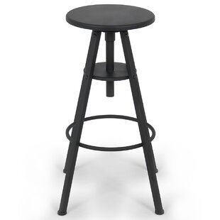 Belleze Adjustable Height Swivel Bar Stool
