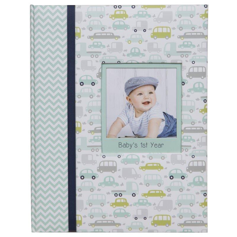 Harriet Bee Baby Boys First Year Milestone Memory Photo Album Wayfair