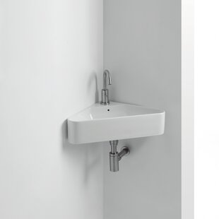 Save Ws Bath Collections Normal Ceramic 17 Corner Bathroom Sink