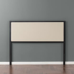 Gracie Oaks Dunnygarran Metal Upholstered Panel Headboard