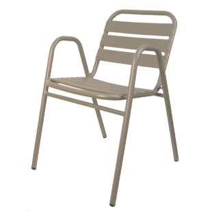 Aluminum Stacking Patio Dining Chair