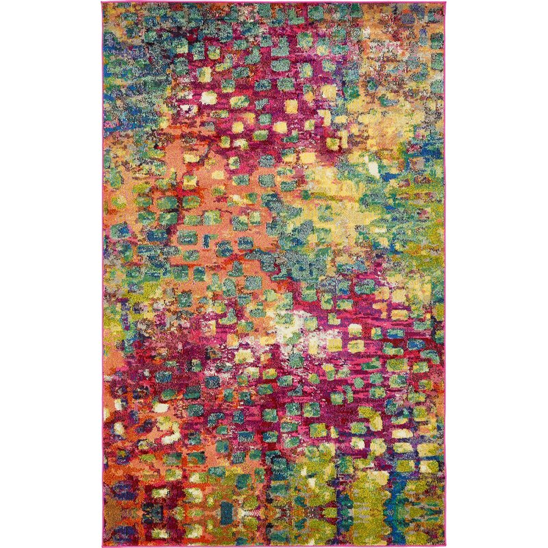 Maoud Multi Colored Area Rug