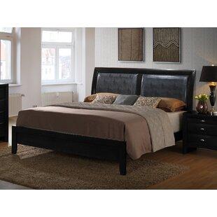 Roundhill Furniture Blemerey Upholstered Platform Bed