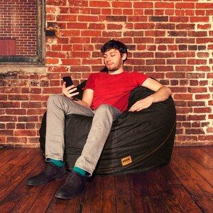 Denim 4 Bean Bag Chair