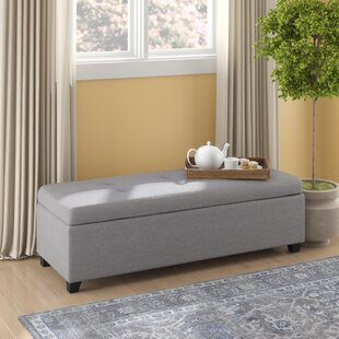 Lachesis Tufted Storage Ottoman by Brayden Studio