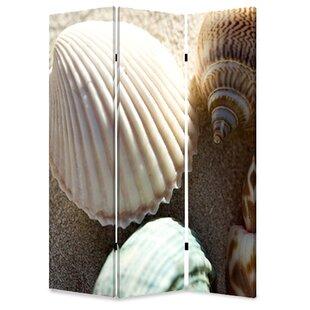 Screen Gems Sea Shell 3 Panel Room Divider